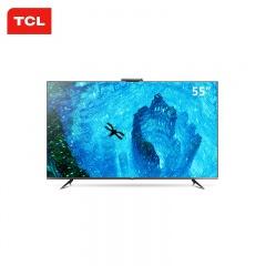 TCL 55英寸超薄4K智能网络电视(TCL外场)