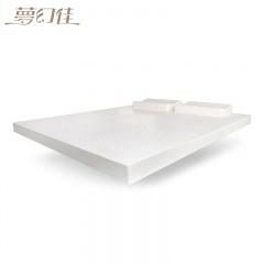 夢幻佳 乳膠床墊+乳膠枕家庭套組 乳膠床墊1床+ 乳膠軟墊1床 +乳膠枕2個