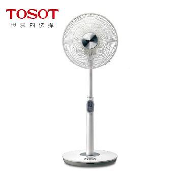 tosot 可充电式七扇叶直流变频22档智能无级自动调速 落地电风扇