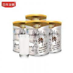 百年龙腾高原全脂纯羊奶400G*4罐