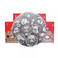 十二生肖经典收藏纪念银章