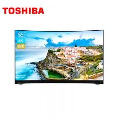 东芝55英寸AI智能曲面4K电视55U6880C