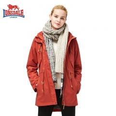 龙狮戴尔 女士时尚典雅旅行鹅绒风衣