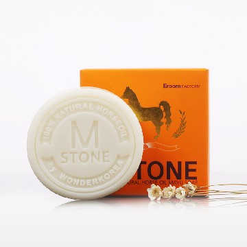 Mstone韩国原装进口马油皂100g