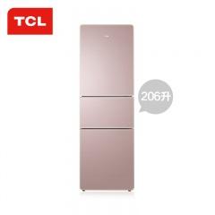 TCL206升电脑温控3门冰箱(TCL外场)