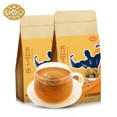 济公缘五宝茶 120g*2包 玛咖五宝茶 男人茶枸杞茶 男性养生茶