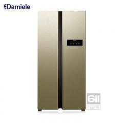 达米尼611升变频对开门冰箱