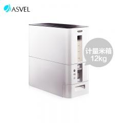 日本ASVEL易收纳自动计量米箱(12KG)