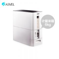 日本ASVEL易收纳自动计量米箱(6KG)