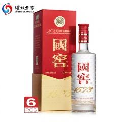 泸州老窖国窖1573 浓香型白酒 38度 整箱装 500ml*6瓶