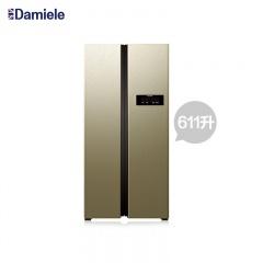 达米尼611升WIFI智能变频对开门冰箱