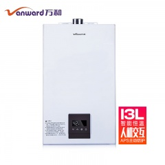 万和13升大容量恒温智能变频燃气热水器JSQ25-13ST16