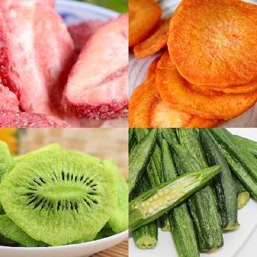 驰中6种果蔬脆片夏日超爽健康组共36袋
