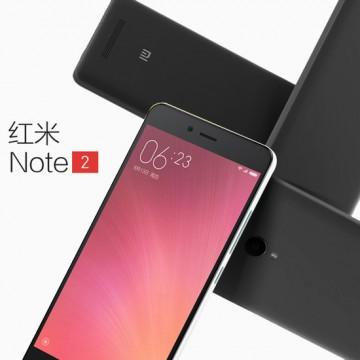 小米 红米NOTE 2 双网通八核16G版 5.5英寸全高清屏 双卡双待 4G智能手机 白色